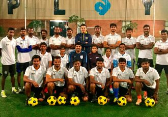 AIFF Grassroots Leasers Course in Bengaluru (Photo courtesy: AIFF Media)