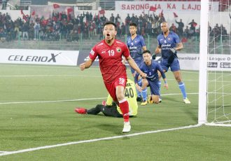 Shillong Lajong beat Churchill Brothers 2-0 in I-League encounter (Photo courtesy: Shillong Lajong FC)