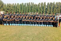 India U-15 Women's national team squad for the SAFF U-15 Women's Championship (Photo courtesy: AIFF Media)
