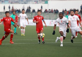 Shillong Lajong go down to NEROCA FC in North East derby (Photo courtesy: Shillong Lajong FC)