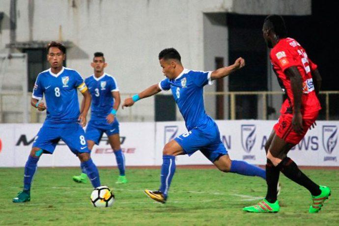 Minerva Punjab FC defeat Indian Arrows (Photo courtesy: I-League Media)