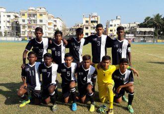 Mohammedan Sporting Club U-13 team in the U-13 Youth League (Photo courtesy: Mohammedan Sporting Club)