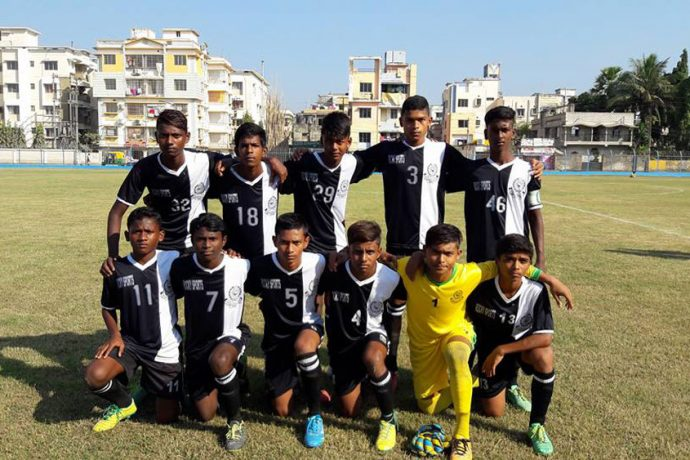 Mohammedan Sporting Club U-13 team in the U-13 Youth League (Photo courtesy: Mohammedan Sporting Club)