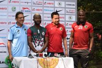 Mohun Bagan AC v Shillong Lajong FC pre-match press conference in Kolkata (Photo courtesy: Shillong Lajong FC)