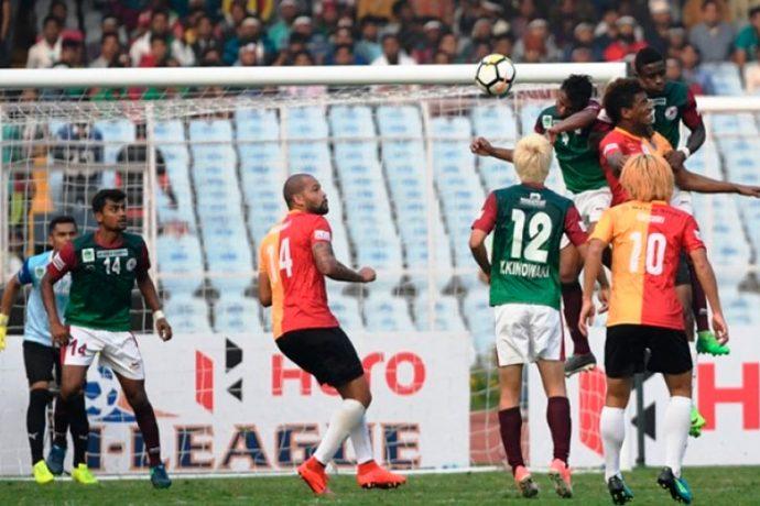Mohun Bagan defeat East Bengal in Kolkata Derby. (Photo courtesy: I-League Media)