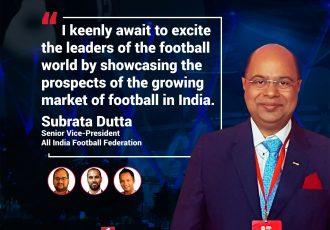 SPOBIS 2018 - Subrata Dutta (Senior Vice-President, All India Football Federation)