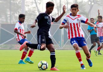 U-15 Youth League action between ATK U-15 and Mohammedan Sporting Club U-15 (Photo courtesy: Mohammedan Sporting Club)