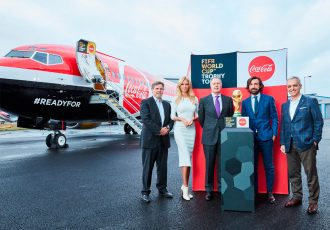 FIFA World Cup Trophy Tour by Coca-Cola takes off from London (Photo courtesy: FIFA)