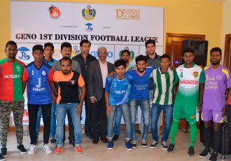 Goa Football Association launches the GENO-First Division League (Photo courtesy: Goa Football Association)