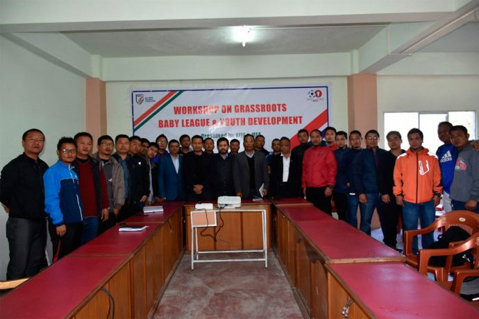 AIFF holds workshop on Baby League and Youth Development in Aizawl. (Photo courtesy: AIFF Media)