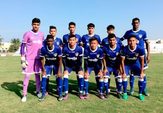 Chennaiyin FC's 'B' team (Photo courtesy: Chennaiyin FC)
