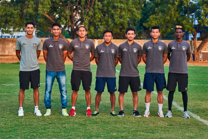 Chennaiyin FC announces 'B' team; signs 7 AIFF graduates (Photo courtesy: Chennaiyin FC)
