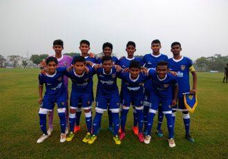 Chennaiyin FC U-15 team (Photo courtesy: Chennaiyin FC)
