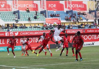 Churchill Brothers beat Shillong Lajong 2-0 at Tilak Maidan (Photo courtesy: Shillong Lajong FC)