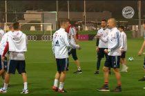 FC Bayern Munich kick off winter training camp in Doha (Photo courtesy: Screenshot FC Bayern.tv)