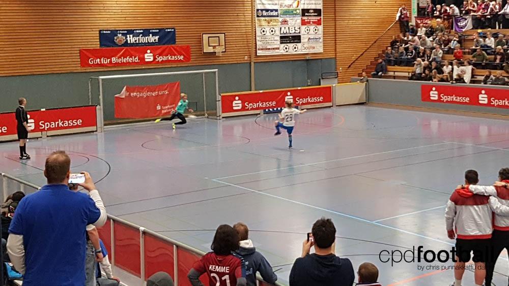 "Day 2: Turbine Potsdam v AC Sparta Praha - ""Weltklasse 2018"" - 38. Internationales Frauenfußball-Hallenturnier des TuS Jöllenbeck"