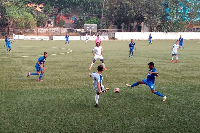 Dempo SC edge past Corps of Signals in Goa Pro League (Photo courtesy: Goa Football Association)