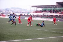 Minerva Punjab secure away win against Shillong Lajong (Photo courtesy: Shillong Lajong FC)