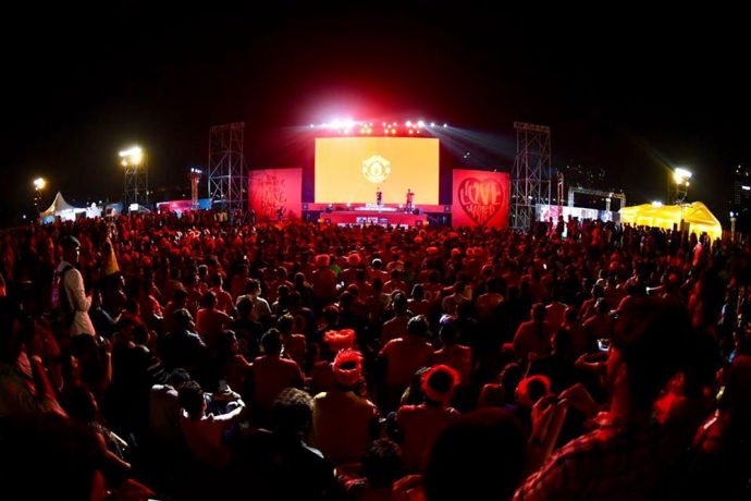 Manchester United's #ILOVEUNITED event a success in Mumbai (Photo courtesy: Manchester United)