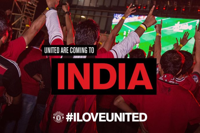 Manchester United's #ILOVEUNITED event returns to Mumbai for a second time (Photo courtesy: Manchester United)