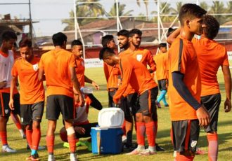 Indian Arrows training session (Photo courtesy: I-League Media)