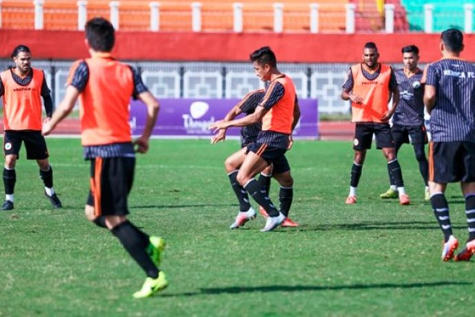 Indian Arrows training session (Photo courtesy: AIFF Media)