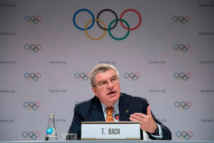 IOC President Thomas Bach (Photo courtesy: Greg Martin/IOC)