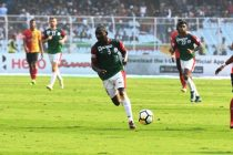Dicka's brace completes Mohun Bagan's double over East Bengal (Photo courtesy: I-League Media)