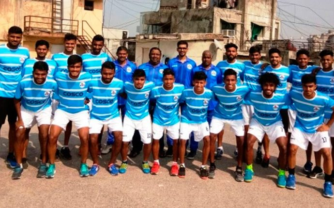 Maharashtra State Team for the qualifying round of the 72nd National Football Championship for the Santosh Trophy