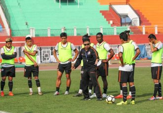 NEROCA FC training session (Photo courtesy: AIFF Media)