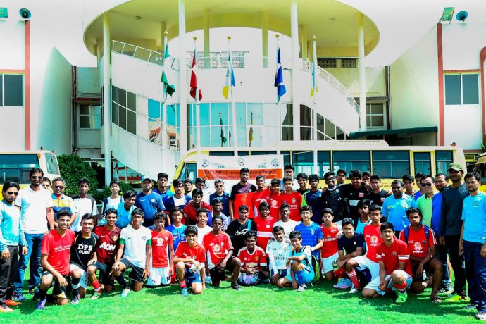 SAI-AIFF Overseas Scouting Project (Photo courtesy: AIFF Media)