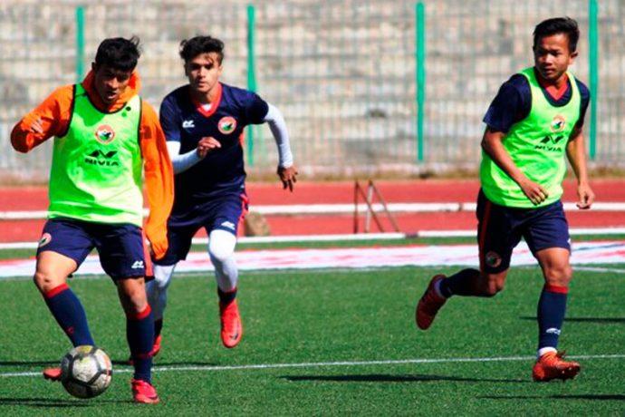 Shillong Lajong FC training session (Photo courtesy: Shillong Lajong FC)