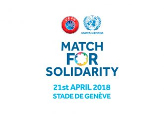 UEFA - United Nations Match for Solidarity 2018