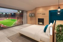 Courtyard by Marriott teams up with FC Bayern to give guests a front row seat. (Photo courtesy: Marriott International)