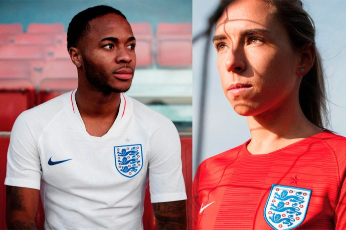 Indispensably England - The new Nike kit for The Three Lions (Photo courtesy: Nike)