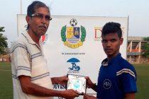 GFA Geno First Division League Man of the Match Joel Dias (United Club Telaulim)