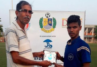 GFA Geno First Division League Man of the Match Joel Dias (United Club Telaulim)