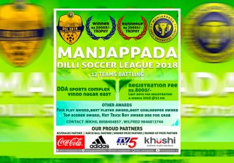 Manjappada Dilli Soccer League 2018