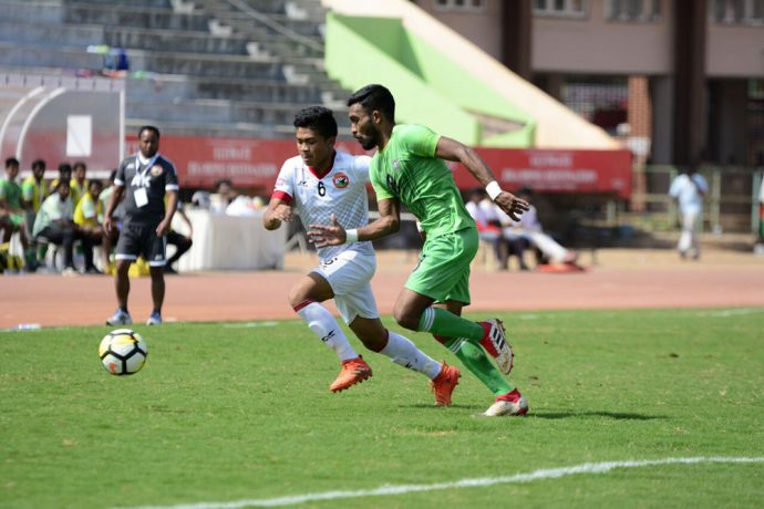 Chennai City and Shillong Lajong play out a goalless draw (Photo courtesy: Shillong Lajong FC)