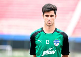 Spanish winger Edu Garcia at Bengaluru FC (Photo courtesy: Bengaluru FC)