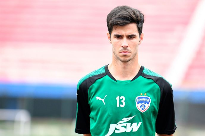 Spanish winger Edu Garcia at Bengaluru FC (Photo courtesy: Bengaluru FC)