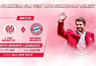 FC Bayern Fan Fest with Star Sports Select in New Delhi