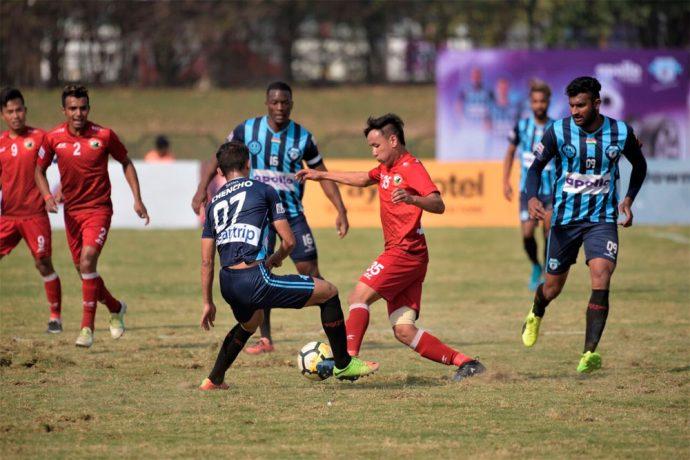 Minerva Punjab FC down Shillong Lajong 3-2 in Chandigarh (Photo courtesy: Shillong Lajong FC)
