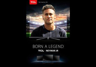 TCL appoints superstar Neymar Jr. as Global Brand Ambassador (Photo courtesy: TCL Multimedia)