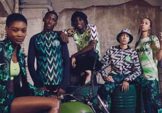 For Naija - The new Nike kit for the national team of Nigeria (Photo courtesy: Nike)