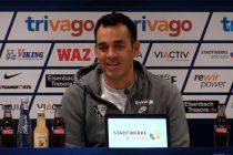 Robin Dutt awaits his first match as new VfL Bochum head coach (Photo courtesy: Screenshot VfL1848.tv)