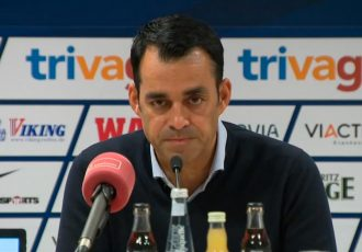 Robin Dutt press conference at VfL Bochum.