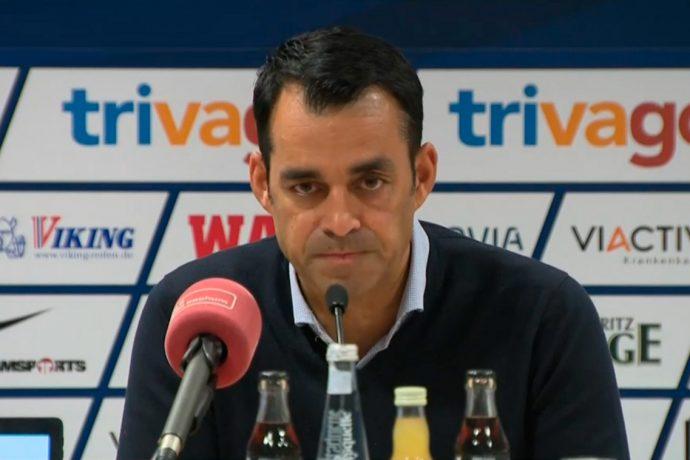 Robin Dutt press conference at VfL Bochum.