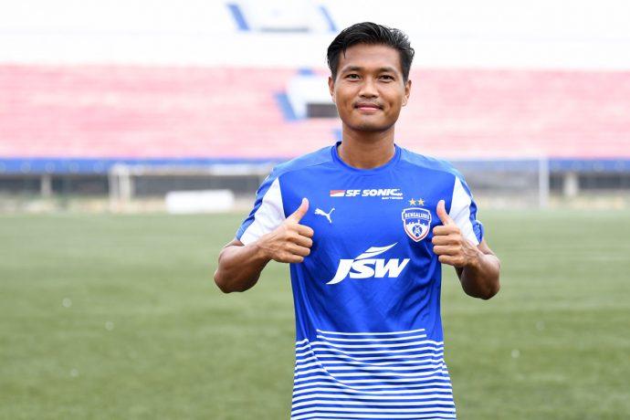 Bengaluru FC winger Boithang Haokip (Photo courtesy: Bengaluru FC)