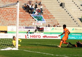 Chennai City FC upset leaders Minerva Punjab FC to open-up I-League title race (Photo courtesy: I-League Media)